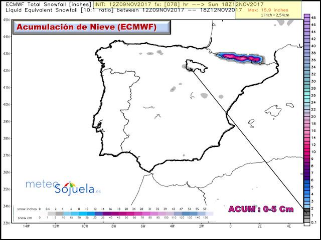 mapa,nieve acumulada tiempo larioja josecalvo meteosojuela