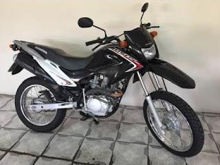 Moto é roubada em Barra da Estiva