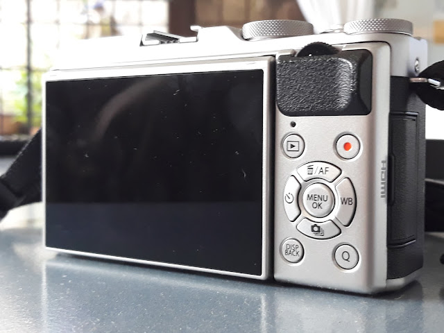 fujifilm mirrorles wide screen