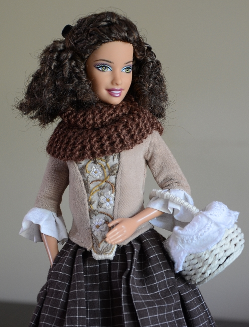 Claire Fraser doll from Outlander series.