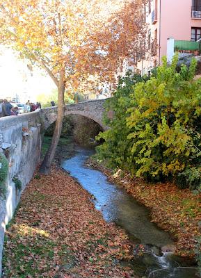 Río Darro a su paso por Granada