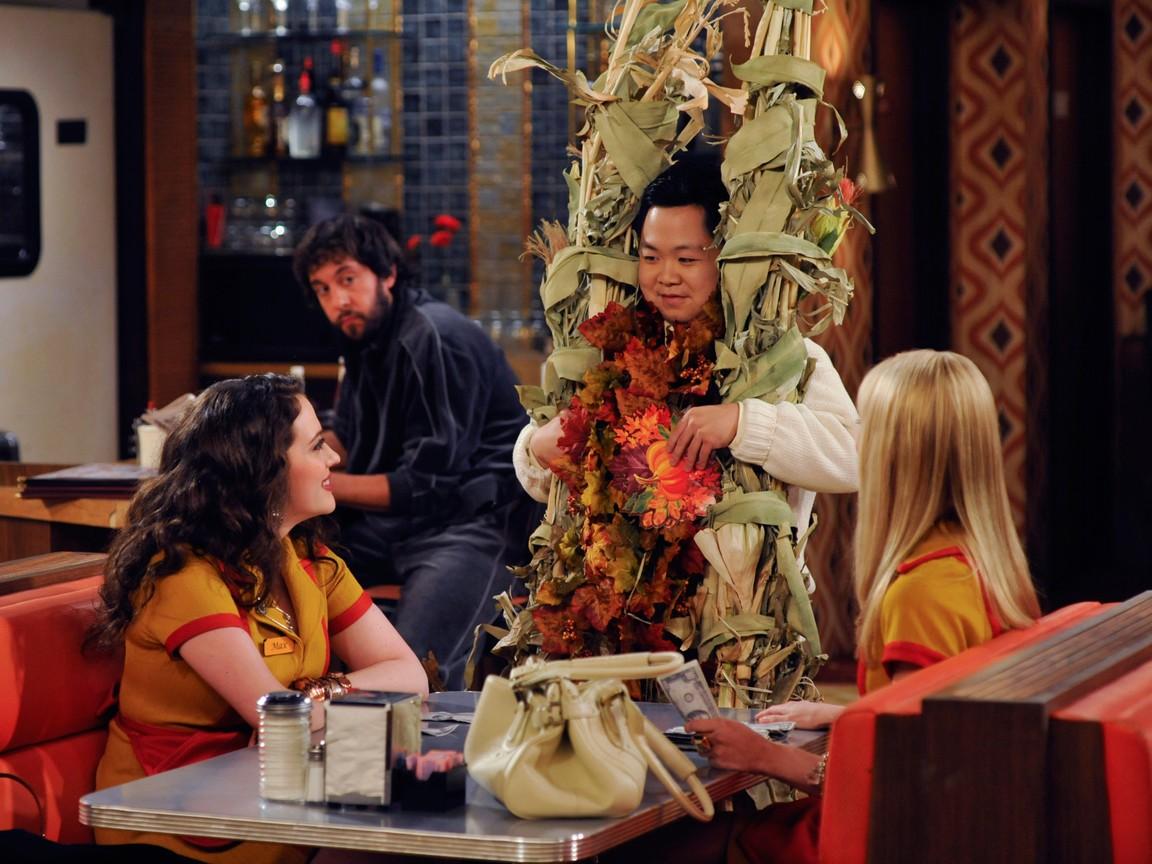 2 Broke Girls - Season 1 Episode 10: And the Very Christmas Thanksgiving