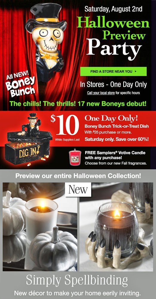Yankee Candle Halloween Preview Party 2020 SeñorScary.com: Yankee Candle Halloween Preview Party