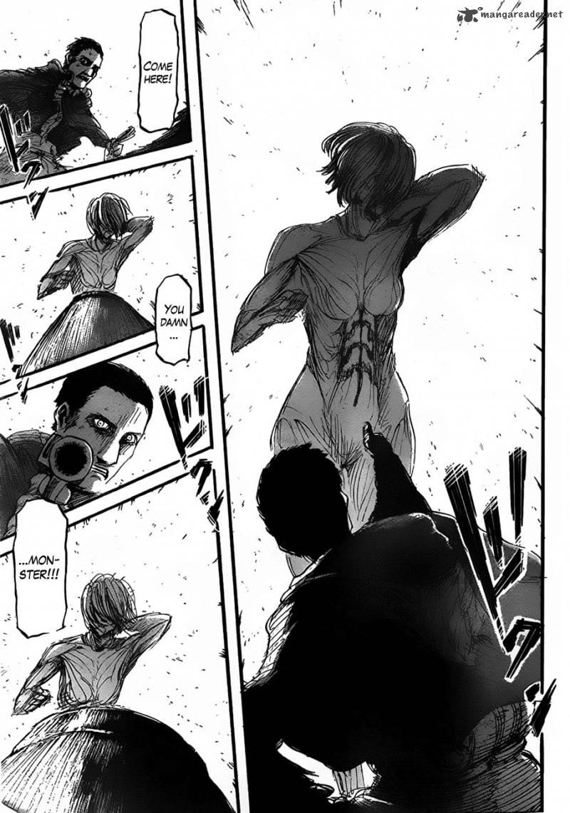 Shingeki no Kyojin Ch 21: The Gate Opens