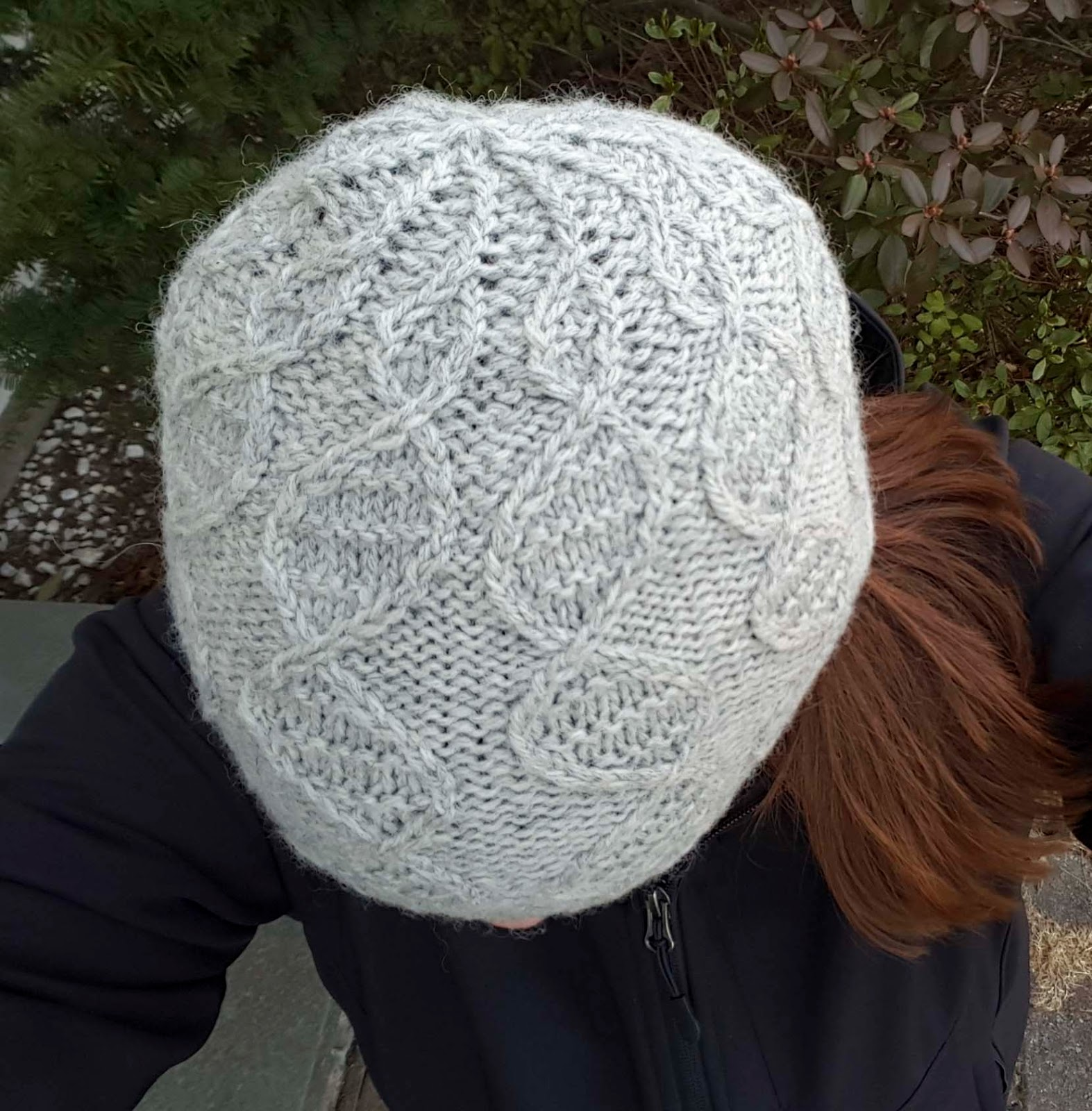 ChemKnits: GENEie Knitting Pattern - Cable Version