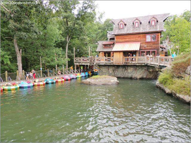 Granjas de Massachusetts: Bumper Boats de la Kimball Farm