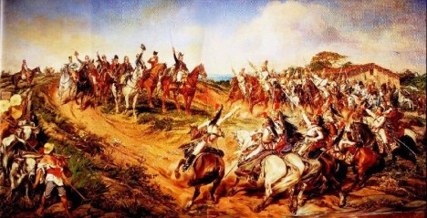 #PraCegoVer: Independência ou Morte, pintura do paraíba Pedro Américo.