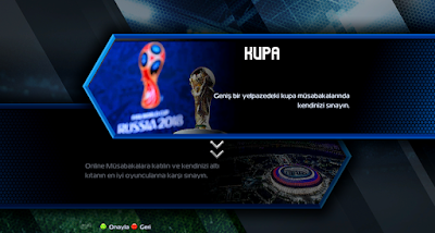 PES 2013 World Cup 2018 Graphic & Menu Patch By AbdDlsz