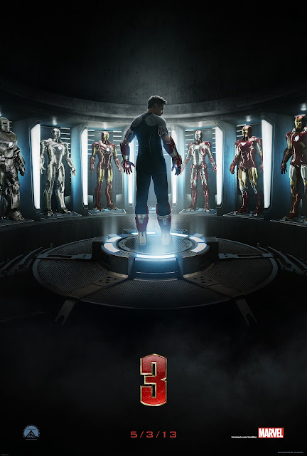 The Iron Man 3 Teaser Poster.