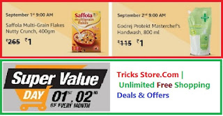 Amazon Super Value Day Sale Free Products