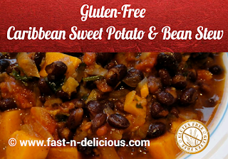 Caribbean Sweet Potato & Bean Stew
