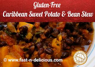 Caribbean Sweet Potato & Bean Stew