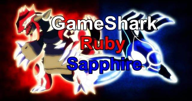 Cheats GameShark Pokémon Ruby / Sapphire GBA - DOWNLOAD ...
