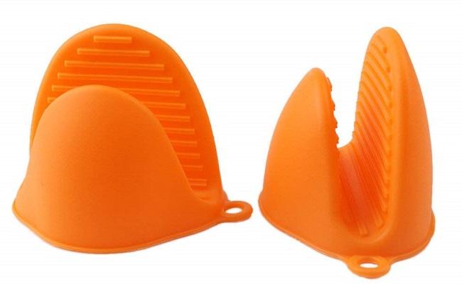 Guantes Manoplas de silicona para el horno