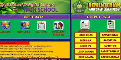 Download Aplikasi Raport Sementara SD SMP SMA