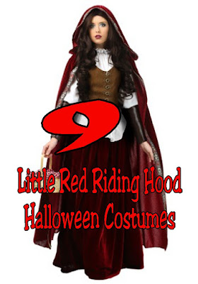 Go trick or treating this Halloween in one of these nine Little Red Riding hood costumes that are perfect for any Halloween party you will go to.  These costumes are ready to put on and slay that big bad wolf on Halloween night.