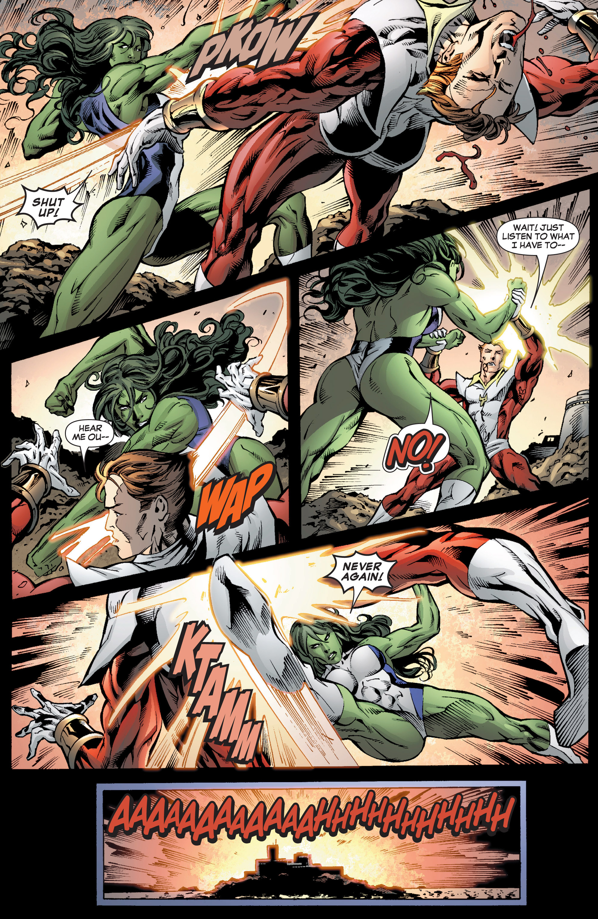 Read online She-Hulk (2005) comic -  Issue #7 - 22