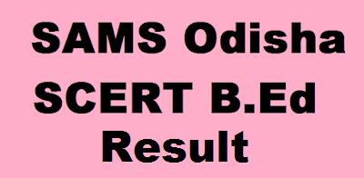 Odisha B.Ed Result 2019