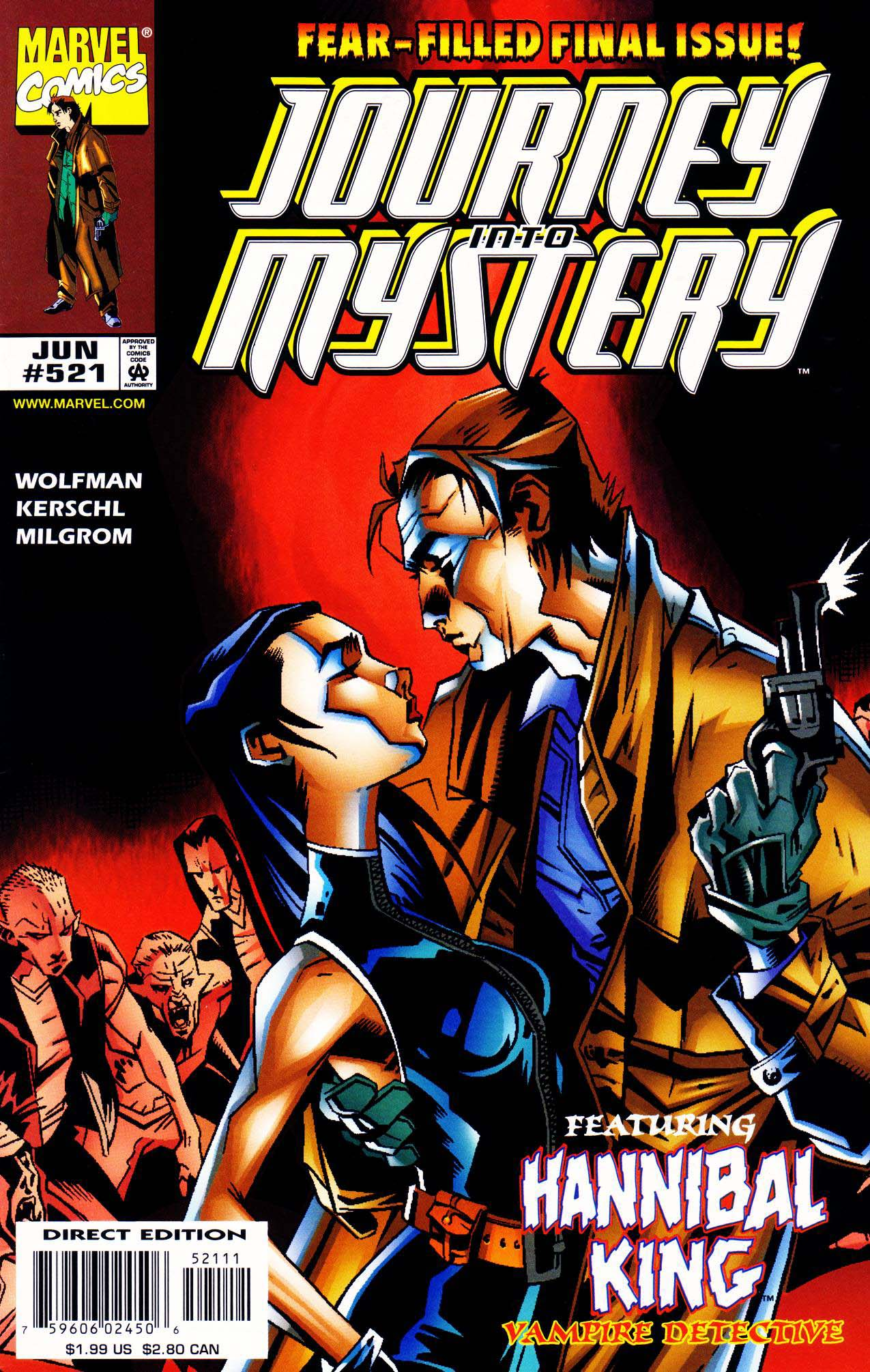 Journey Into Mystery (1996) issue 521 - Page 1