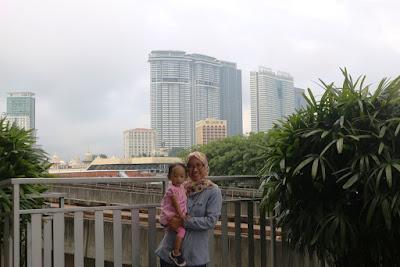 Teras Lantai 2 Hotel Geo Central market