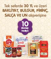 Migros Bakliyat Bulgur Pirinç Salça ve Un 10 Money Puan
