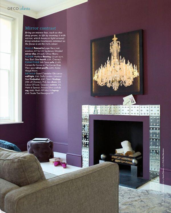 Master Bedroom Colors Purple