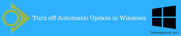 turn off automatic update windows 7