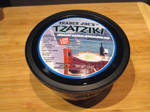 Trader Joe's Tzatziki Creamy Garlic Cucumber Dip