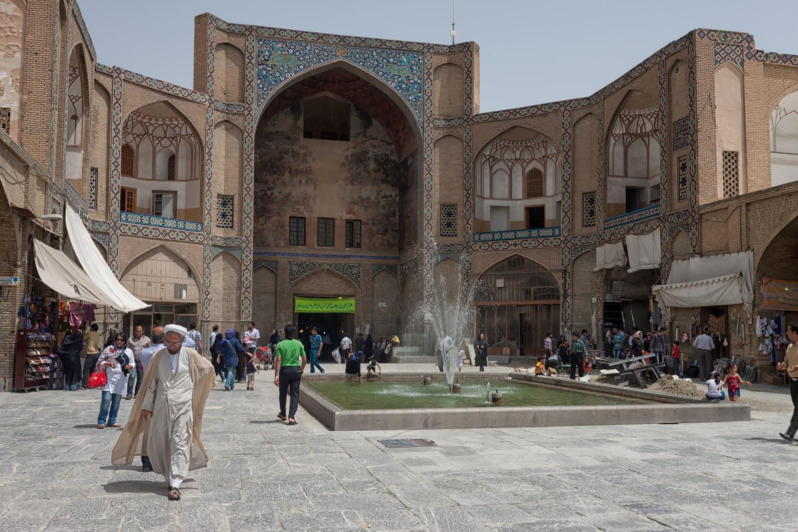 wejście do bazaru,Isfahan,Iran