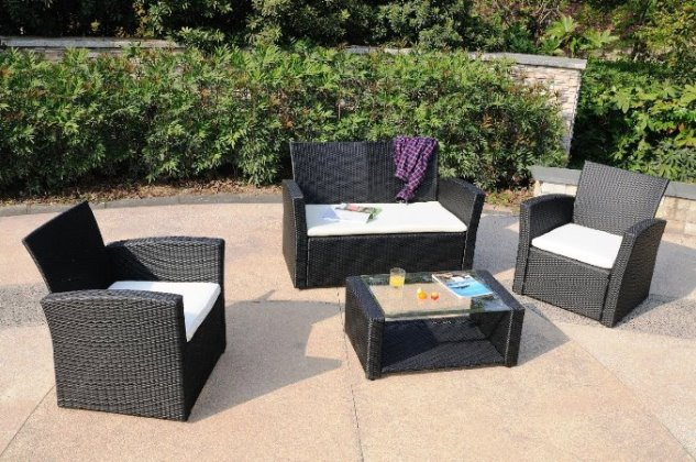 best outdoor black wicker patio furniture sets