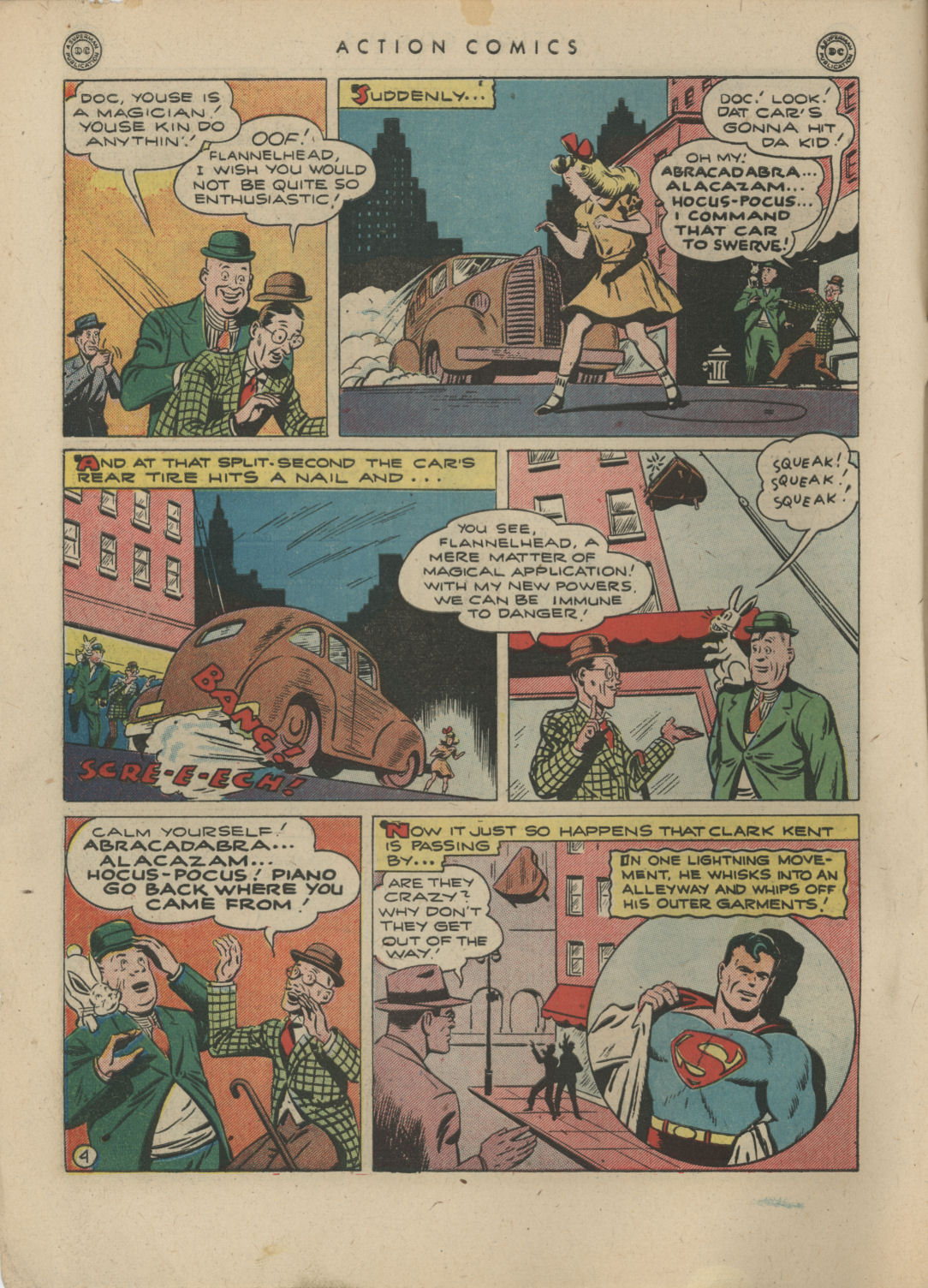 Read online Action Comics (1938) comic -  Issue #83 - 6