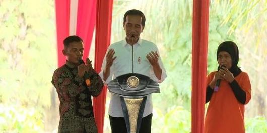 Bertemu Petani Karet di Sumsel, Jokowi Didoakan Terpilih Lagi
