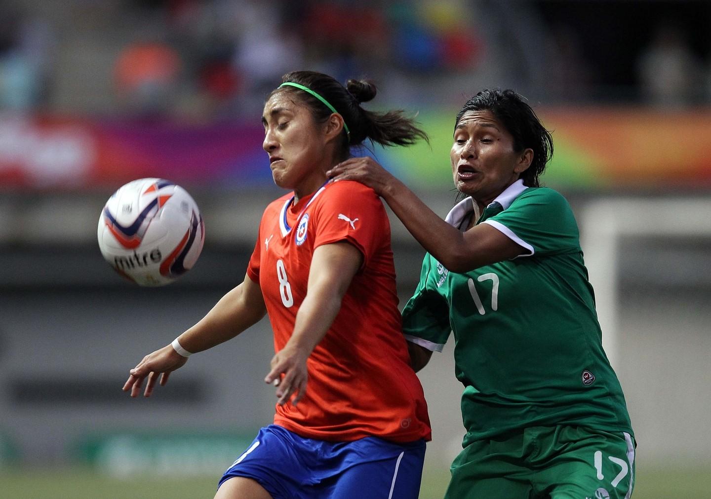 Chile y Bolivia en Juegos Suramericanos Santiago 2014, 12 de marzo