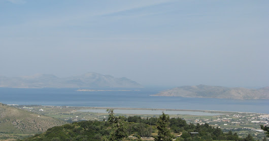 Taking the road from Zia to Asclipeion/Kos