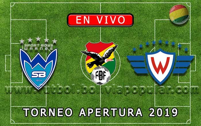【En Vivo】Sport Boys vs. Wilstermann - Torneo Apertura 2019