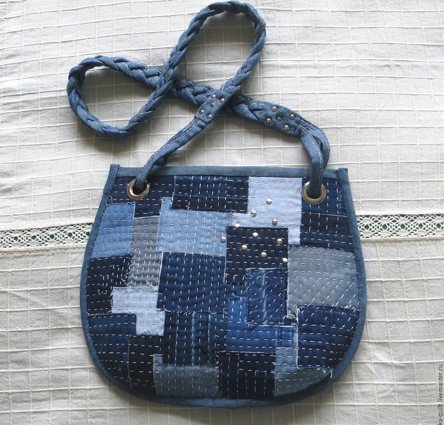Denim Bag Tutorial