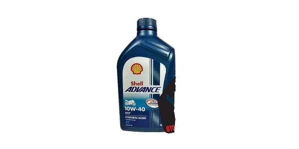 gambar botol oli Shell advance AX7 New Vixion