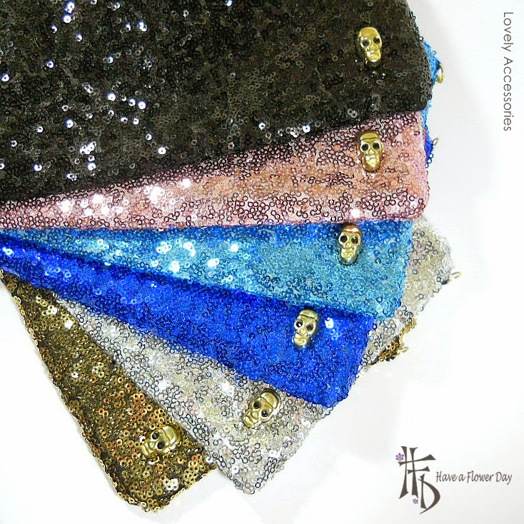 Carteras Lentejuelas · Sequin Clutches