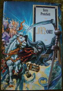 Portada del libro Mort, de Terry Pratchett