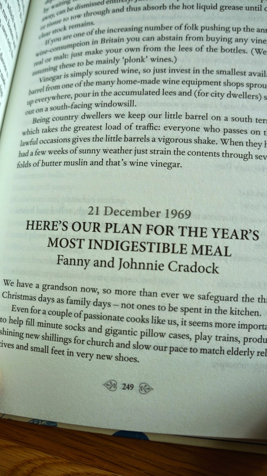 Fanny Cradock Food Writing