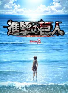 """La tercera temporada de """"Ataque a los Titanes"""" (Shingeki no Kyojin 進撃の巨人) regresará en abril de 2019."""