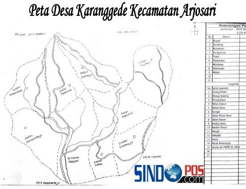 Profil Desa & Kelurahan, Desa Karanggede Kecamatan Arjosari Kabupaten Pacitan