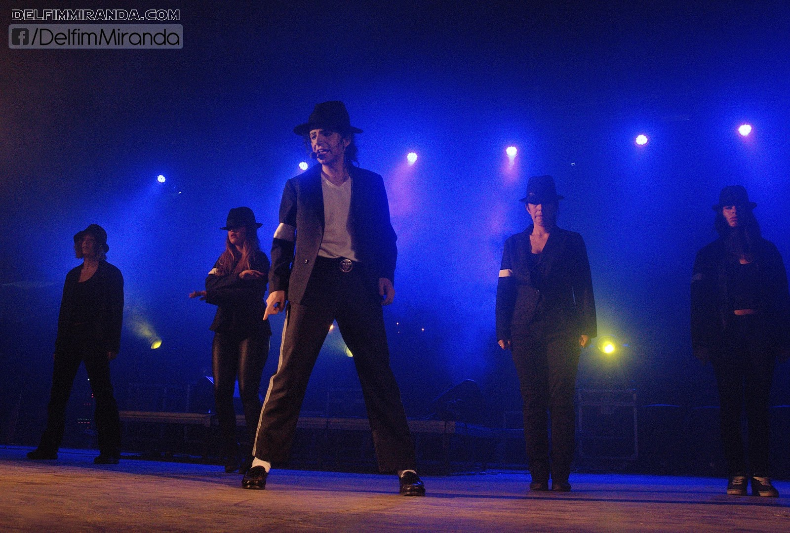 Delfim Miranda - Michael Jackson Tribute - Smooth Criminal - Live on stage