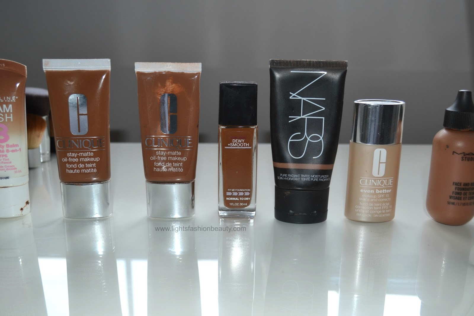 foundation collection, foundation for women of color, best foundation for oily skin, high end foundations, drugstore foundation, full coverage foundation