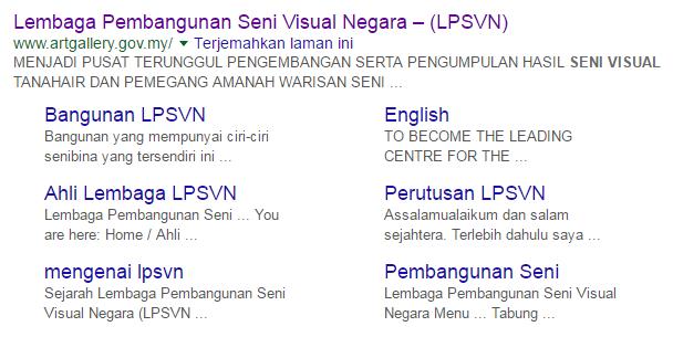Rasmi - Jawatan Kosong (LPSVN) Lembaga Pembangunan Seni Visual Negara Terkini 2019