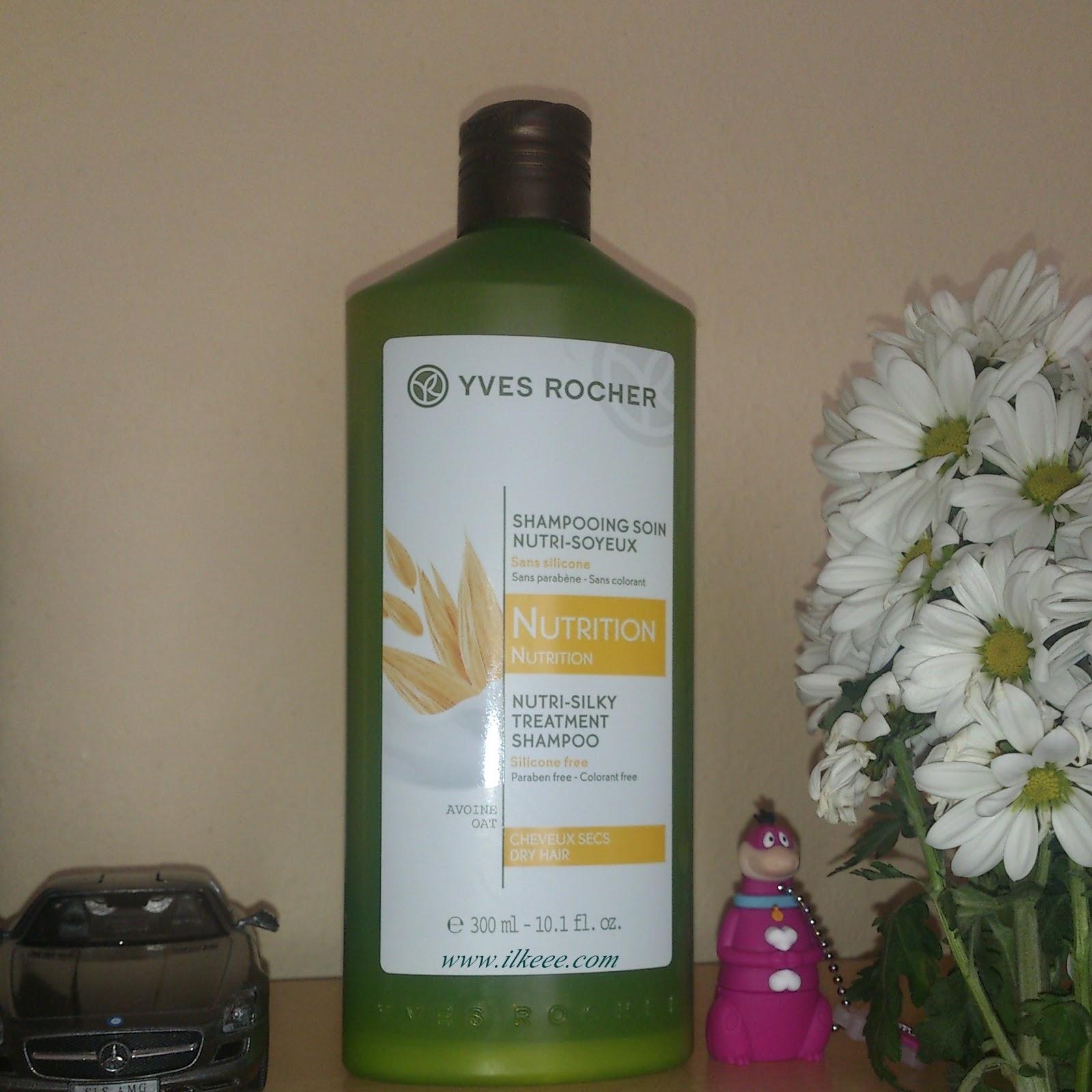 Yves Rocher Soin Nutri - Kuru Saçlar İçin Besleyici Şampuan - Yves Rocher Şampuan - Kuru ve Yıpranmış Saçlara Saç Bakım Önerisi