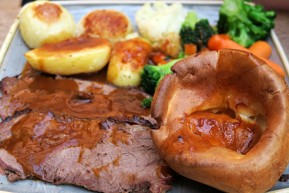 Nation of Shopkeepers beef Sunday roast review