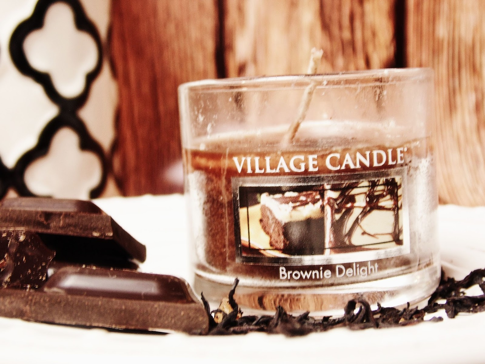 Brownie Delight Village Candle Recenzja