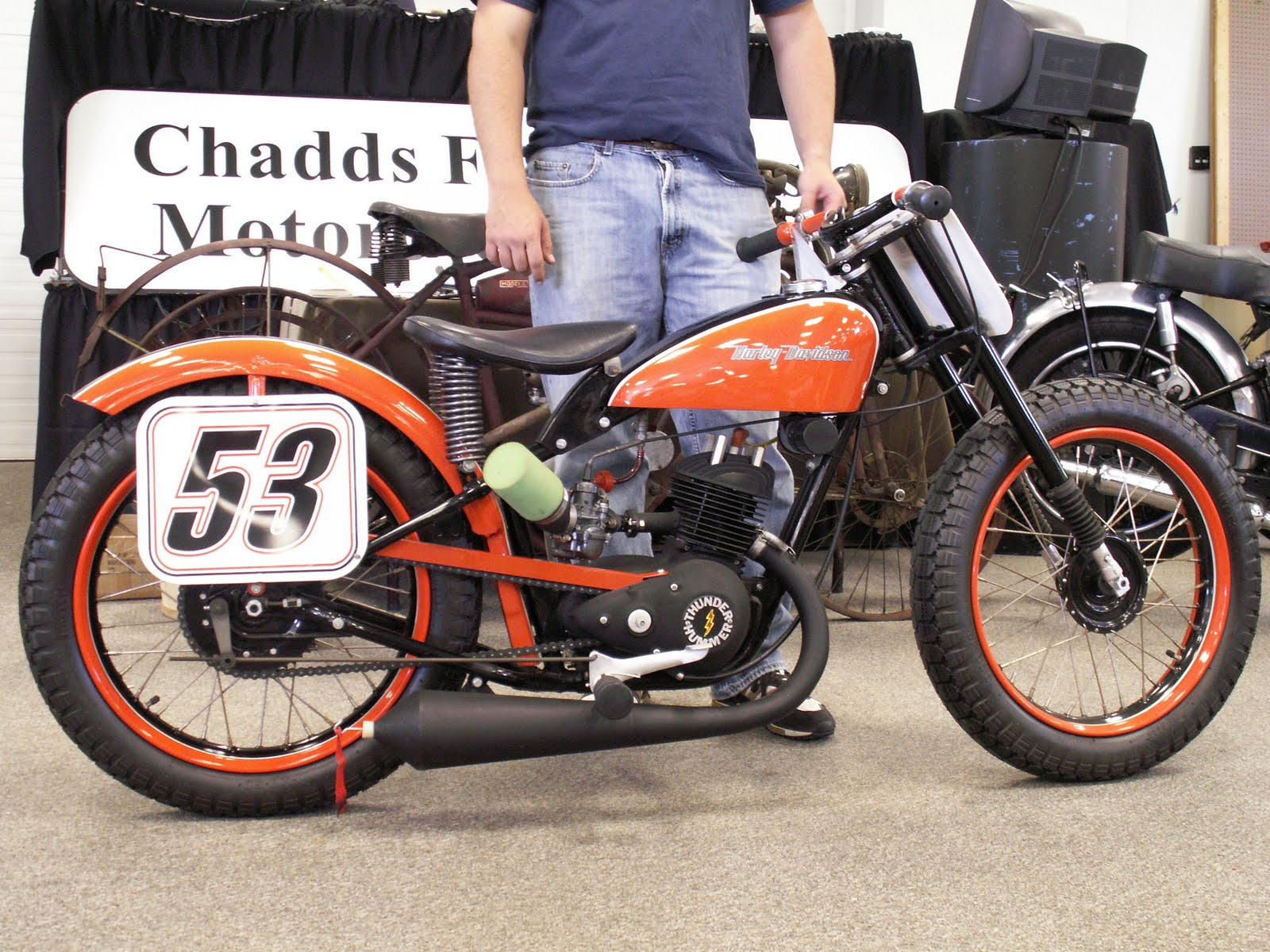Motorcycle Auction Action