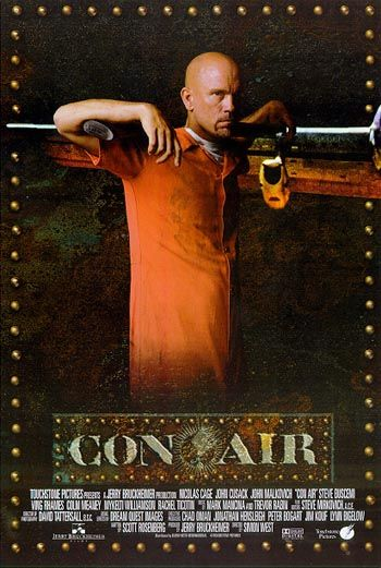 Con Air movie poster